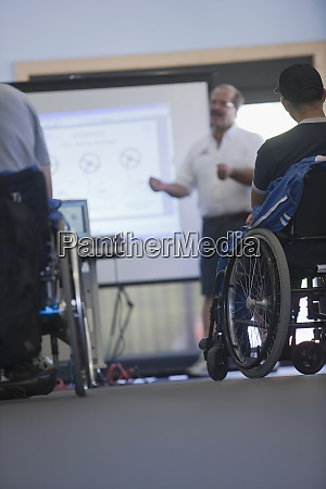 disability sports training class