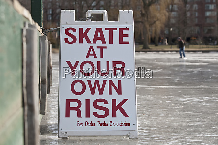skate at your own risk warning