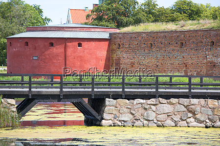 malmo castle 15th century fortress surrounded