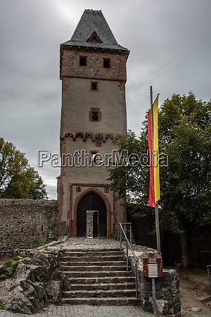 burg frankenstein fortress near darmstadt