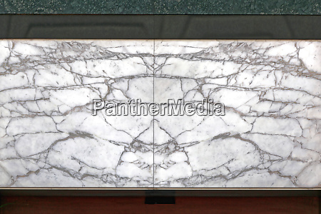 mirrored marble