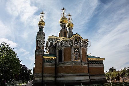russian churches with onion domes in