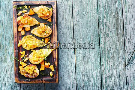 sweet baked pears
