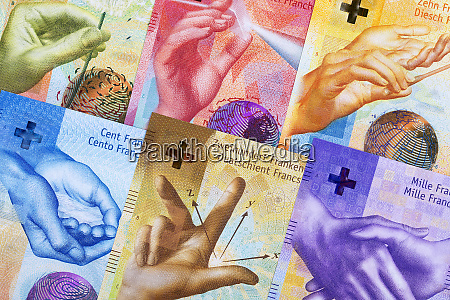 swiss francs a business background
