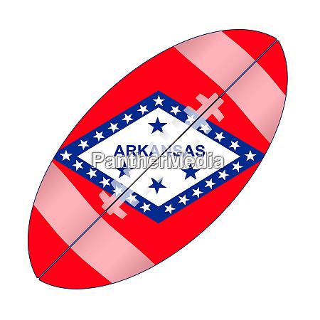 arkansas state usa football flag