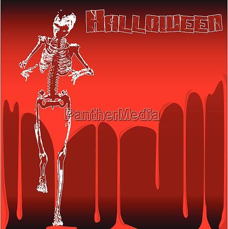 halloween skeleton stalker
