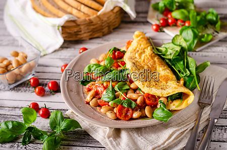 bio healthy egg omelette