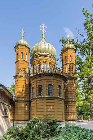 russian orthodox chapel at the historic