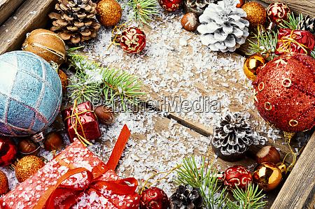 christmas holidays composition