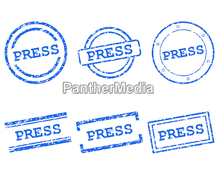 press stamps