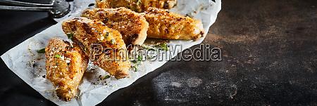 spicy seasoned chicken buffalo wings