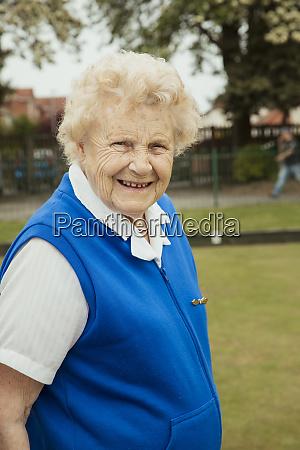 cute old lady portrait