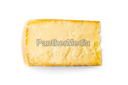 block of tasty cheese