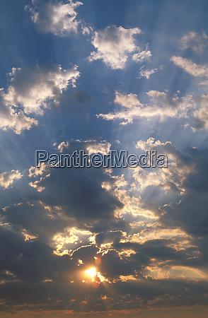africa botswana okavango delta sunrise