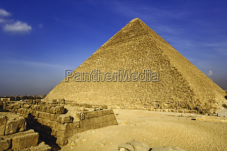 the great pyramid of giza built