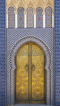 africa morocco fes detail of the