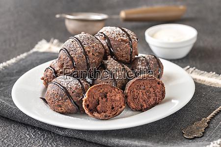 chocolate pancake puppies
