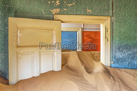 africa namibia kolmanskop doorways and drifting