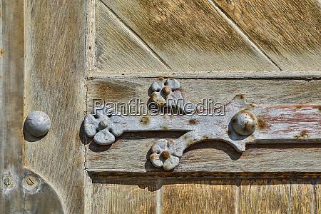 africa namibia detail of church door