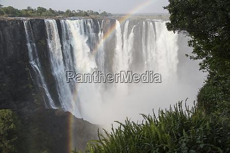 africa zimbabwe victoria falls landscape of