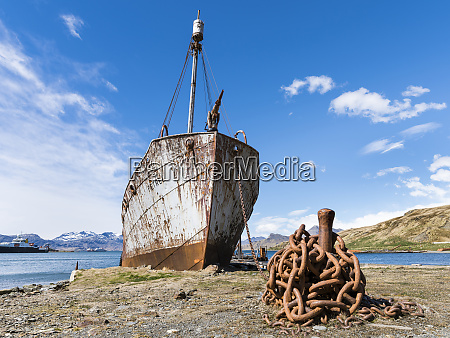the petrel a whale catcher grytviken
