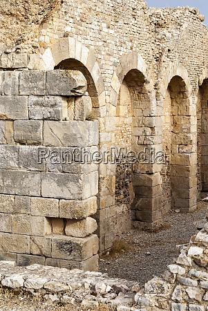 memmian baths roman ruins of bulla