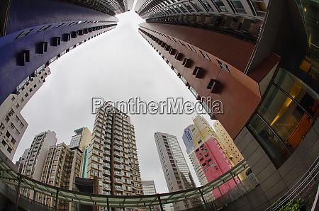 china hong kong high rise buildings