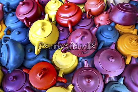 old chinese ceramic tea pots panjuan