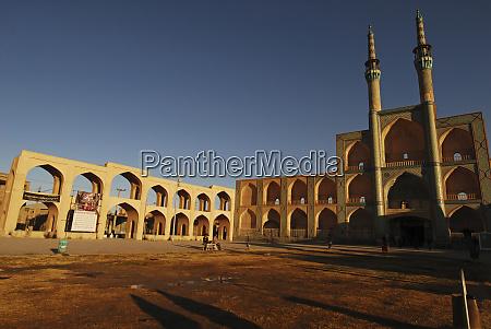 iran yazd the zoroastrian complex of