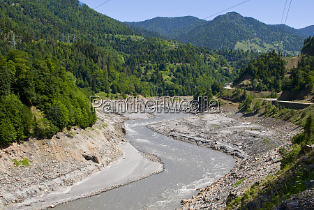 svaneti region the inguri enguri river