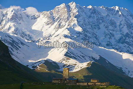fortified village of ushguli svanetia unesco