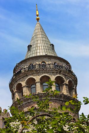 galata tower istanbul turkey