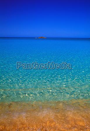 blue water exuma islands bahamas