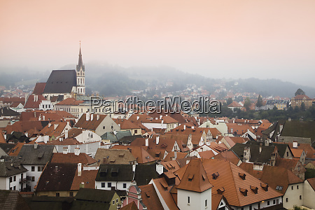 czech republic cesky krumlov in the