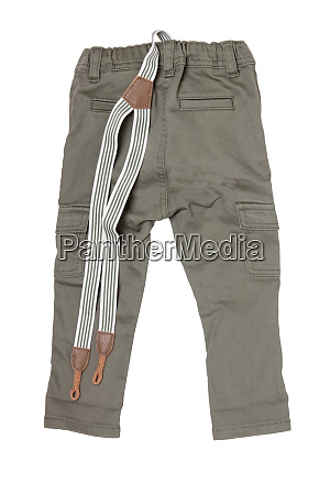 jeans isolated trendy stylish khaki denim