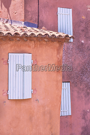 europe france provence roussillon window shutters
