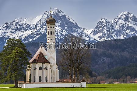 wies church or wieskirche on the
