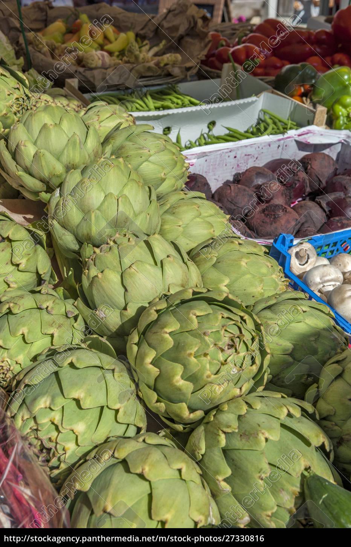 vegetables, at, outdoor, market, , honfleur, , normandy, - 27330816