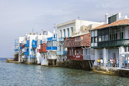 little venice waterfront mykonos greece