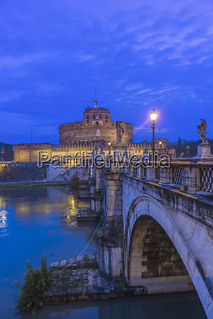 europe italy rome ponte santangelo at