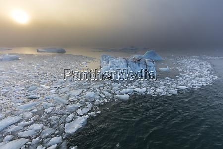 norway svalbard nordaustlandet ice patterns and