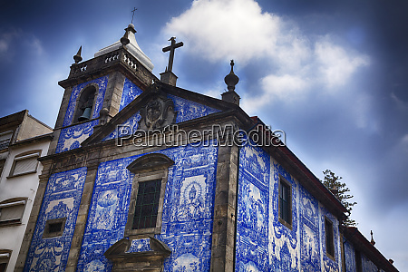 portugal porto the small church capela