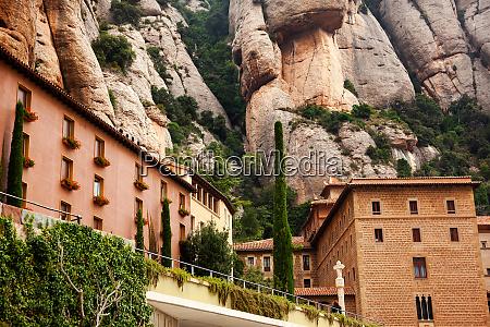 monastery of montserrat barcelona catalonia spain