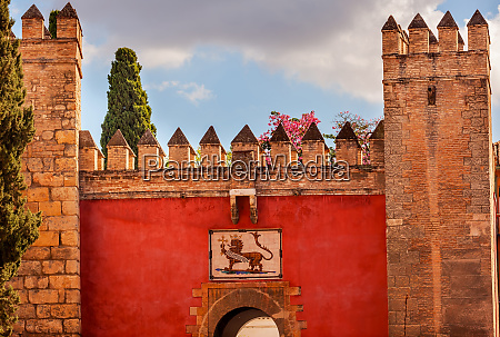 red gate royal mosaic alcazar royal