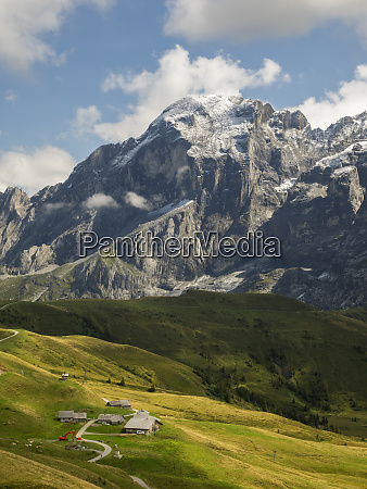 switzerland bern canton grosse scheidegg the