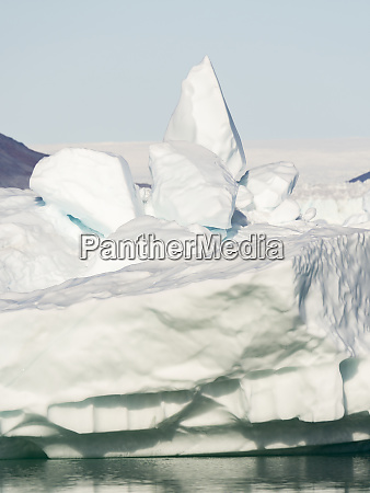 iceberg in the pakitsoq fjord system