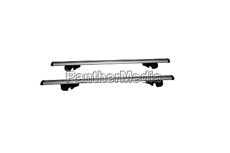 new universal car roof rack isolated
