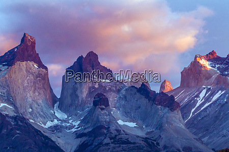 south america chile patagonia torres del