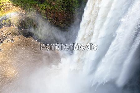 south america guyana kaieteur falls view
