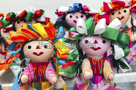 colorful lupita dolls named after guadalupe